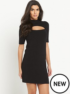 very-peekaboonbspcut-out-mini-dress