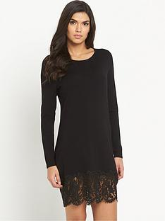 v-by-very-lace-hem-jumper-dress