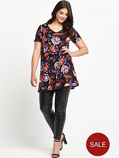 so-fabulous-v-neck-print-tunic-top