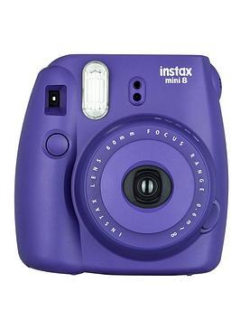 Fuji Instax Mini 8 Purple Instant Camera