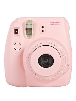 Fuji Instax Mini 8 Pink Instant Camera Included 10 Shots