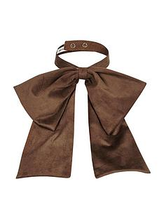 river-island-suedette-neck-bow