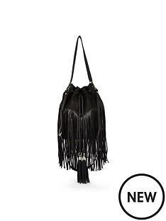 river-island-suede-effect-fringed-duffel-bag