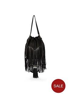 river-island-suede-effect-fringed-duffel-bag