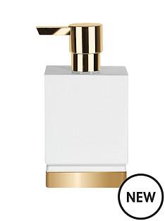 spirella-roma-white--gold-soap-dispenser