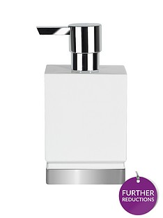 spirella-soap-dispenser-in-white-and-silver