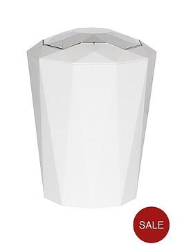 spirella-crystal-5-litre-bin-in-white