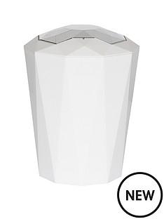 spirella-crystal-white-5-litres-bin