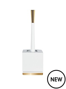 spirella-roma-white--gold-toilet-brush