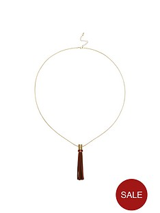 oasis-suede-tassel-long-necklace