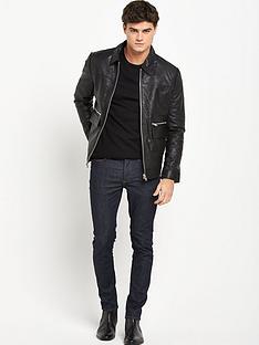 river-island-river-island-leather-harrington-jacket