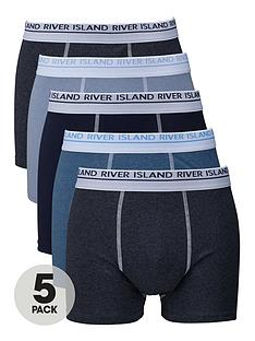 river-island-plainnbspboxers-5-pack