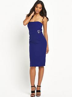 river-island-nbspbandeau-buckle-posh-bodycon-dress