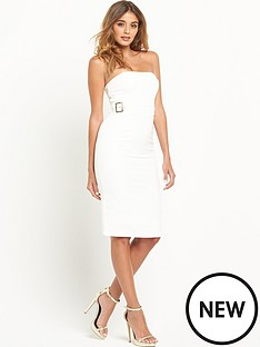 river-island-bandeau-buckle-dress