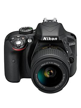 Nikon D3300 24.2 Megapixel Digital Camera With 1855 Mm NonVr Lens