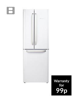 hotpoint-day-1-ffu3dw-american-stylenbsp70cmnbspwide-frost-free-fridge-freezer-a-energy-rating-white