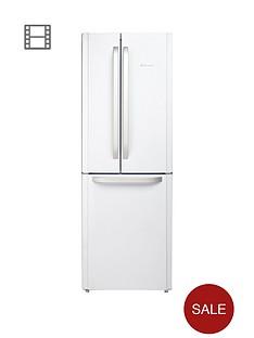 hotpoint-day1-ffu3dw-american-stylenbsp70cmnbspwide-frost-free-fridge-freezer-a-energy-rating-white