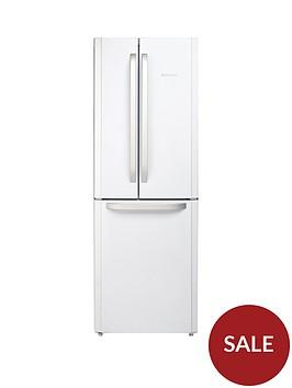 hotpoint-ffu3dw1-american-stylenbsp70cmnbspwide-frost-free-fridge-freezernbsp--white