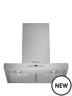 hotpoint-ultima-60cm-box-hood-stainless-steel
