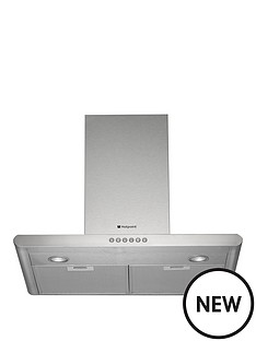 hotpoint-ultima-70cm-chimney-hood-stainless-steel