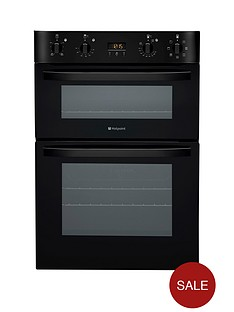 hotpoint-ultima-dh93ck-multifunction-double-oven-black