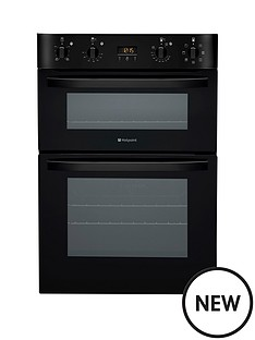 hotpoint-ultima-multifunction-double-oven-black