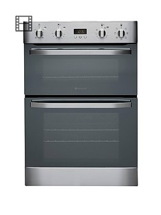 hotpoint-ultima-dh93cxs-multifunction-double-oven-stainless-steel