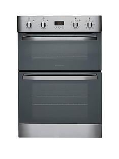 hotpoint-ultima-dh93cxsnbspbuilt-in-multifunction-electric-double-oven-stainless-steel