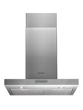 indesit-iht65scmix-60cm-chimney-cooker-hood-stainless-steel