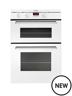 indesit-electric-built-in-double-oven-white