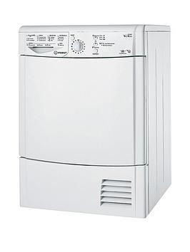 Indesit Ecotime Idcl85Bh 8Kg Condenser Sensor Dryer  White