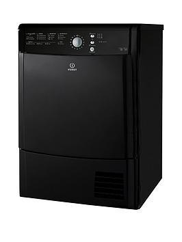 indesit-ecotime-idcl85bhk-8kg-condenser-sensor-dryer-black