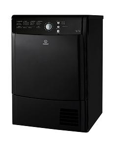 indesit-idcl85bhk-8kg-sensor-condenser-dryer-b-energy-black
