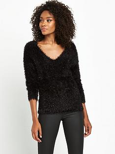 south-fluffy-sparkle-yarn-jumpernbsp