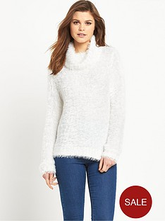 south-fluffy-roll-neck-jumpernbsp