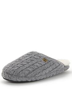 tommy-hilfiger-knitted-mule-slipper