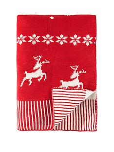 luxury-christmas-knitted-throw