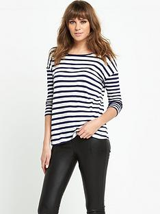 south-34-sleeve-stripe-t-shirtnbsp