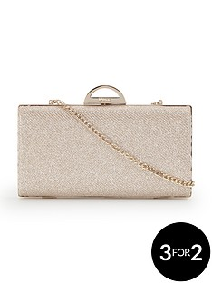 dune-sparkly-clutch-bag