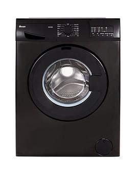 Swan Sw2080B 8Kg Load 1400 Spin Washing Machine  Black