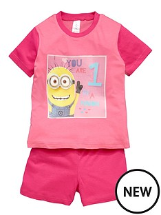 minions-girls-minions-short-pyjamas