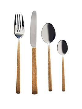 viners-dazzle-gold-16-piece-cutlery-set