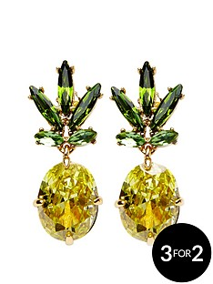 juicy-couture-pineapple-drop-earring-gold