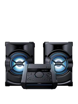 Sony Shake X1D High Power Music System With Bluetooth  Black