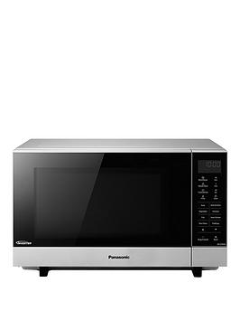 panasonic-sf464mbpq-flatbed-solo-microwave-silver