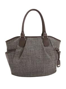 mamas-papas-parker-tote-bag-chestnut-tweed