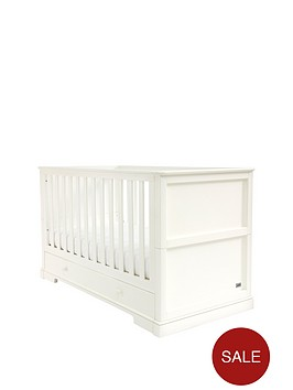 mamas-papas-oxford-cot-bed-white