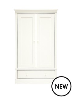 mamas-papas-mamas-amp-papas-oxford-wardrobe--white
