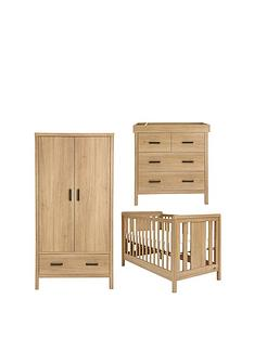 mamas-papas-kingston-cotbed-dresser-amp-wardrobe