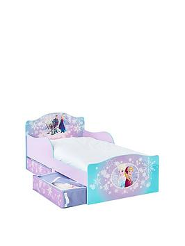 Disney Frozen Snuggletime Toddler Bed with underbed storage